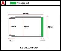 Modular Light-Sabre Parts - Pommel