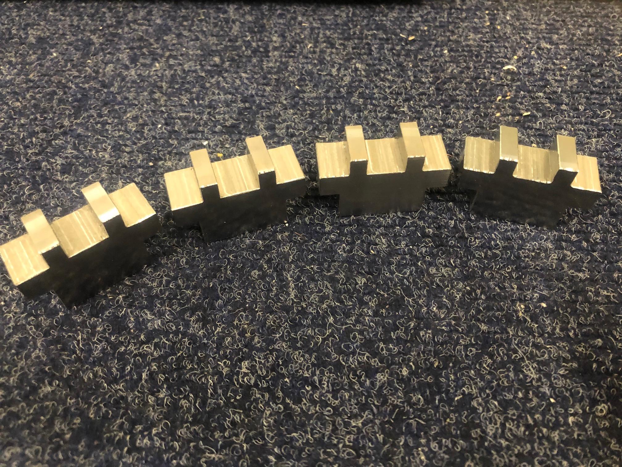 Mild steel part