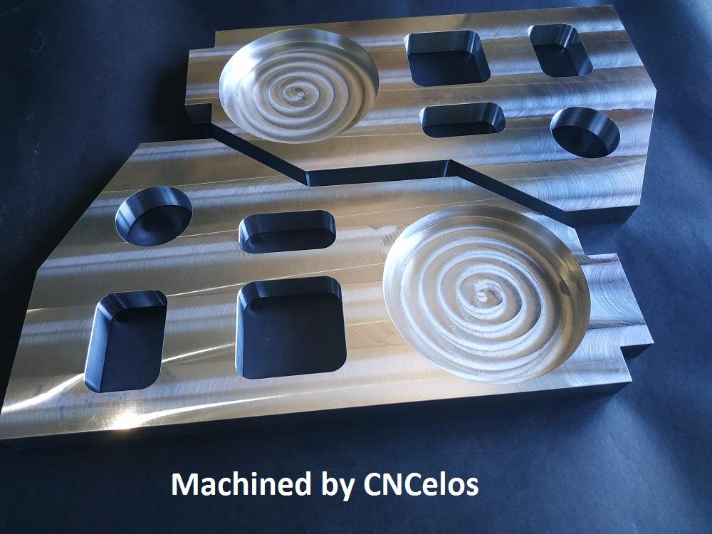 Aluminium Bulkheads x2