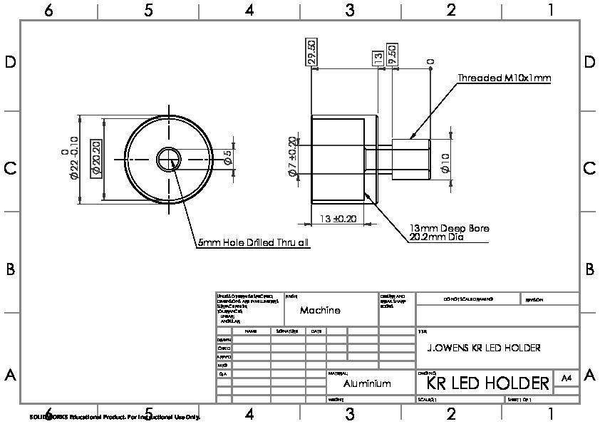 KR LED Holder