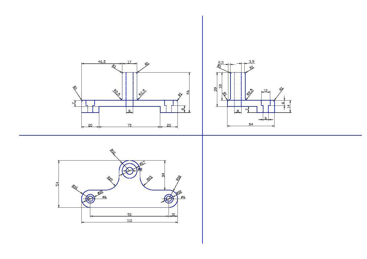 Stabiliser bracket for motorcycle