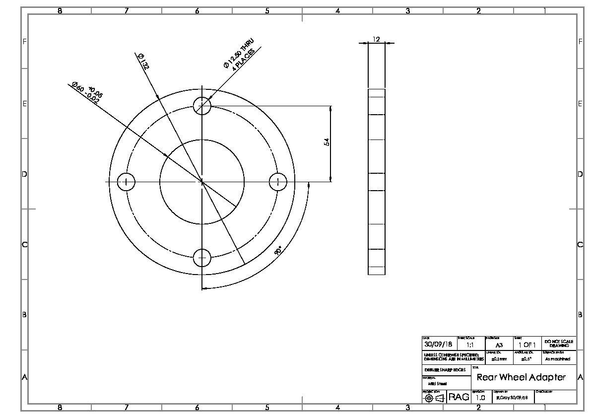 Rear Wheel Adapters