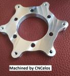 disc mount plate for motorcycle